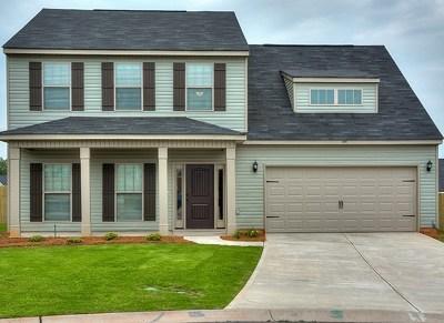 Augusta Single Family Home For Sale: 932 Burlington Drive