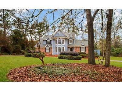 Single Family Home For Sale: 3485 Stallings Island Road