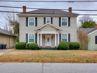 Augusta Single Family Home For Sale: 1520 Monte Sano Avenue