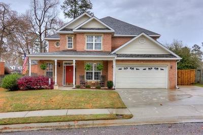 Evans Single Family Home For Sale: 442 Keeling Lane