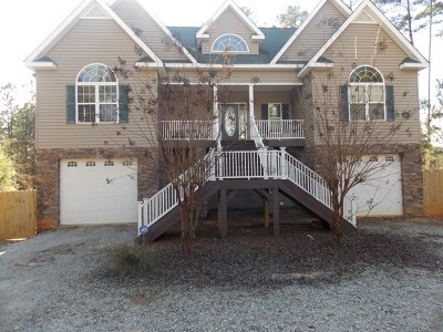 Lincolnton Single Family Home For Sale: 1000 Guillebeau Road