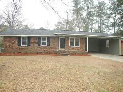 Columbia County, Richmond County Single Family Home For Sale: 3614 Melbourne Drive