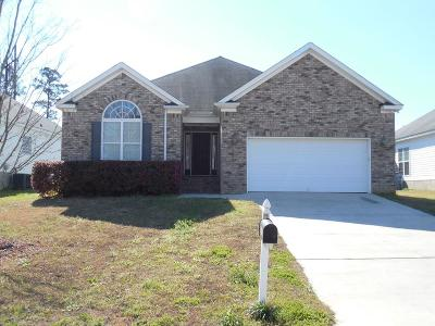 Grovetown Single Family Home For Sale: 843 Tyler Woods
