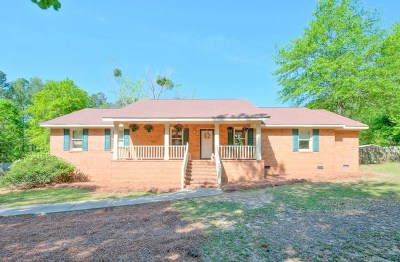 North Augusta Single Family Home For Sale: 2002 Fox Creek Drive
