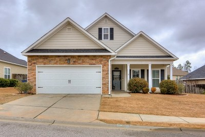 Grovetown Single Family Home For Sale: 5707 Audrey Lane