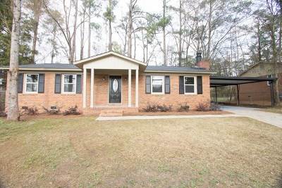 Augusta GA Single Family Home For Sale: $130,000