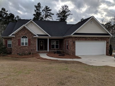 Thomson Single Family Home For Sale: 2832 Deer Trail Road
