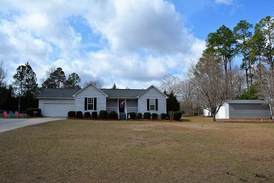Thomson Single Family Home For Sale: 263 Brentwood Drive