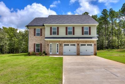 Hephzibah Single Family Home For Sale: 4635 Hunters Mill Court