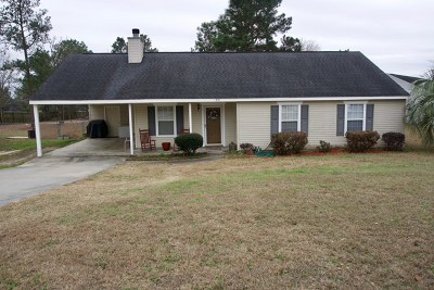 North Augusta Single Family Home For Sale: 199 Sudlow Ridge Road