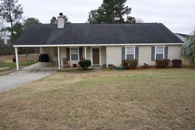 North Augusta Single Family Home For Sale: 199 Sudlow Ridge Road