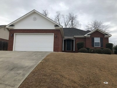 Grovetown Single Family Home For Sale: 2002 Darwood Drive