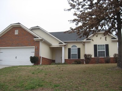 Grovetown Single Family Home For Sale: 939 Arbor Springs Circle