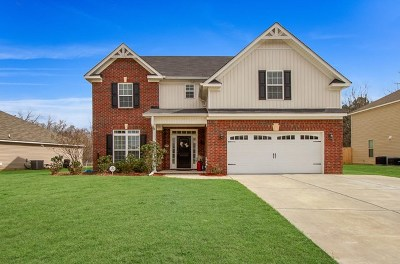 Grovetown Single Family Home For Sale: 1632 Cedar Hill Drive