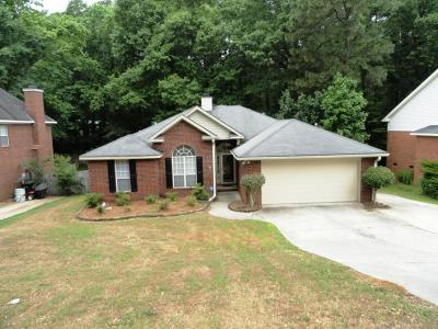 Evans Single Family Home For Sale: 4689 Walnut Hill Drive