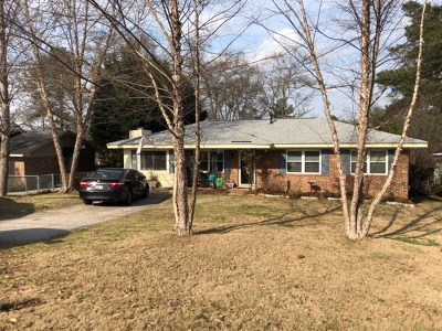 North Augusta Single Family Home For Sale: 1815 Marion Avenue