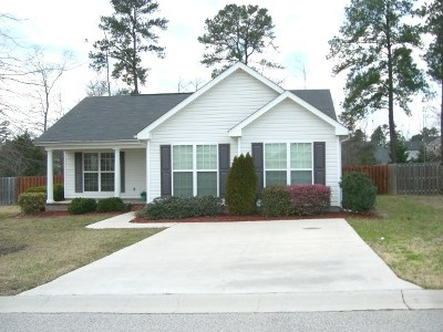 Grovetown Single Family Home For Sale: 726 Keyes Drive
