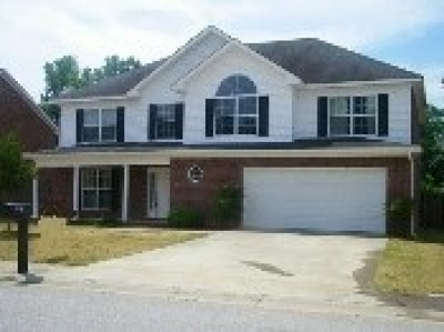 Grovetown Single Family Home For Sale: 7509 Senators Ridge Drive