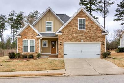 Grovetown Single Family Home For Sale: 736 Herrington Drive