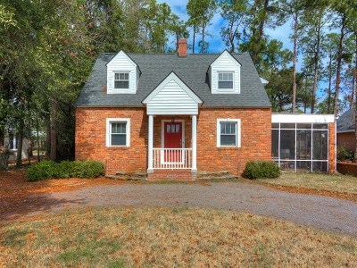 Augusta Single Family Home For Sale: 3023 Wrightsboro Road