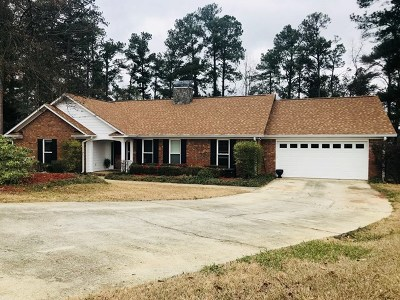 Evans Single Family Home For Sale: 4552 Oxford Drive