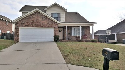 Grovetown Single Family Home For Sale: 5021 Reynolds Way