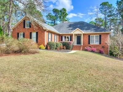 Aiken SC Single Family Home For Sale: $229,900