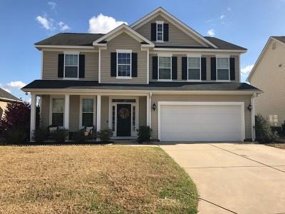 Grovetown GA Single Family Home For Sale: $225,000
