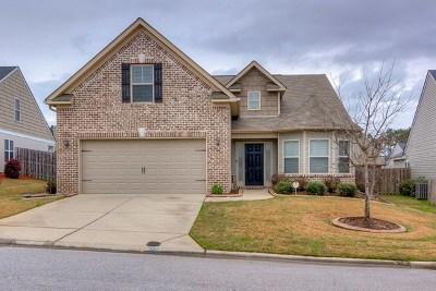 Grovetown GA Single Family Home For Sale: $187,900