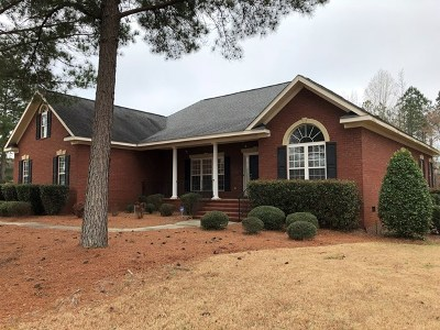 North Augusta Single Family Home For Sale: 208 Homeward Bound Drive