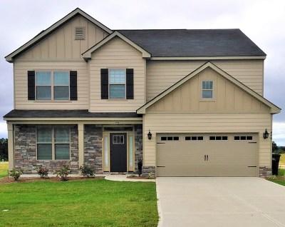 Augusta Single Family Home For Sale: 821 Burlington Drive
