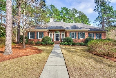 Aiken Single Family Home For Sale: 113 Yellow Pine Drive