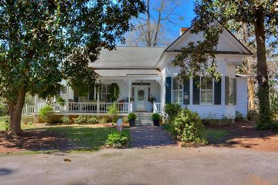 Edgefield County Single Family Home For Sale: 803 Buncombe Street