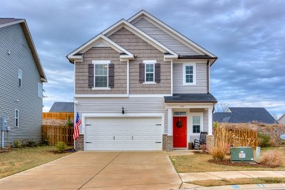 Canterbury Farms Single Family Home For Sale: 447 Brantley Cove Circle