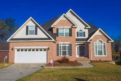 Columbia County Single Family Home For Sale: 431 Wade Plantation Drive