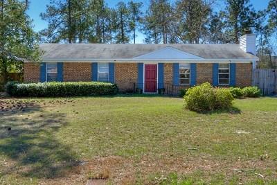 Hephzibah Single Family Home For Sale: 3831 Fairington Drive