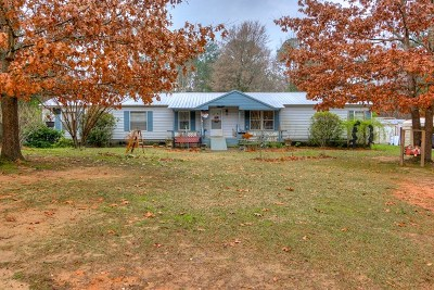 Lincoln County Single Family Home For Sale: 2187 Loco Church Road