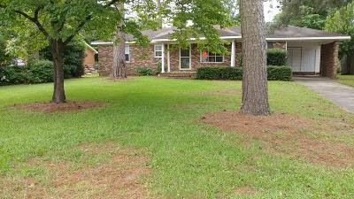 Augusta Single Family Home For Sale: 3724 Columbia Drive