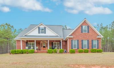 Edgefield County Single Family Home For Sale: 304 Old Stage Road