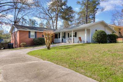 Augusta Single Family Home For Sale: 3370 Wedgewood Drive
