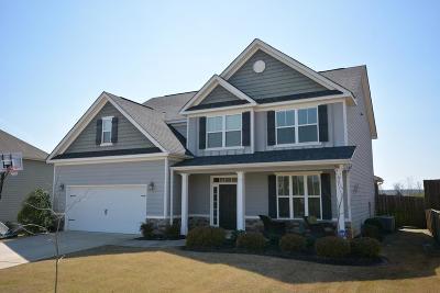 Evans Single Family Home For Sale: 1252 Berkley Hills Pass