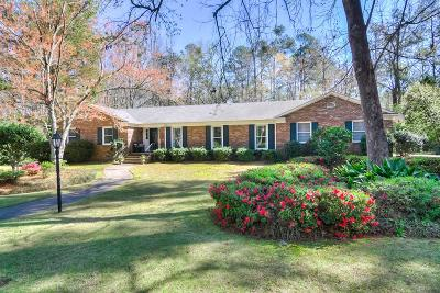 Augusta Single Family Home For Sale: 602 Norwich Road