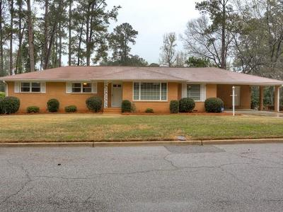 Augusta Single Family Home For Sale: 3121 Sussex Road