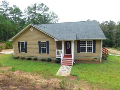 McDuffie County Single Family Home For Sale: 4655 Hillman Gay Road