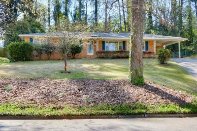 Augusta Single Family Home For Sale: 3122 Exeter Road