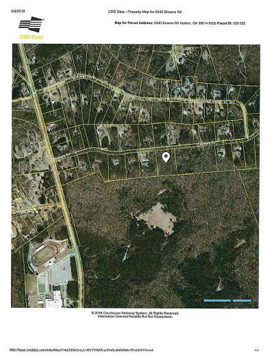 Columbia County Residential Lots & Land For Sale: 6340 Browns Road