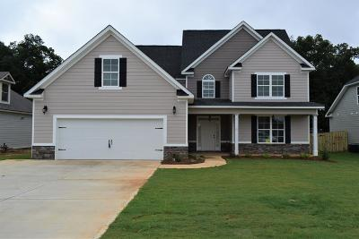 Grovetown Single Family Home For Sale: 3557 Patron Drive