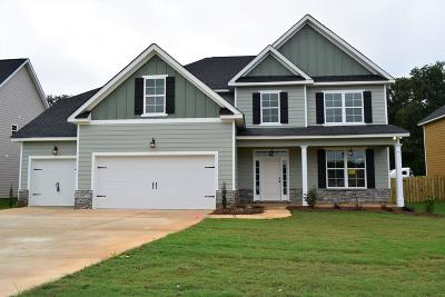 Grovetown Single Family Home For Sale: 3555 Patron Drive