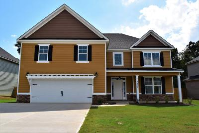Grovetown Single Family Home For Sale: 3551 Patron Drive