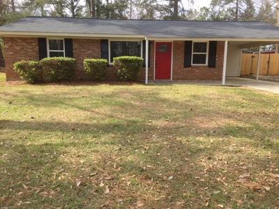 Hephzibah Single Family Home For Sale: 2053 Mims Street
